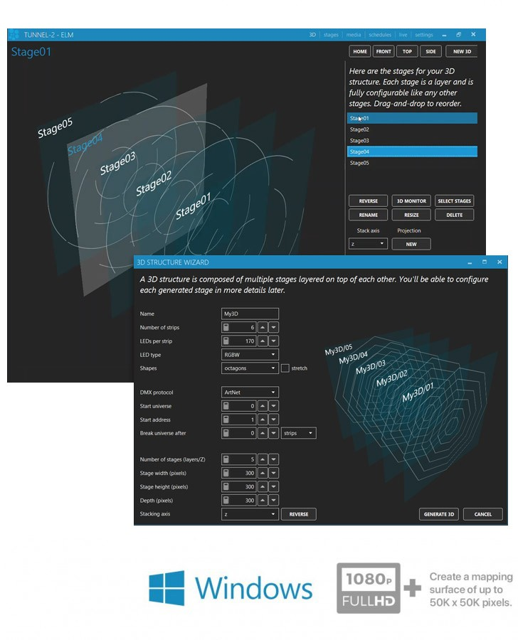 Elm The Award Winning Led Pixel Mapping Software Enttec