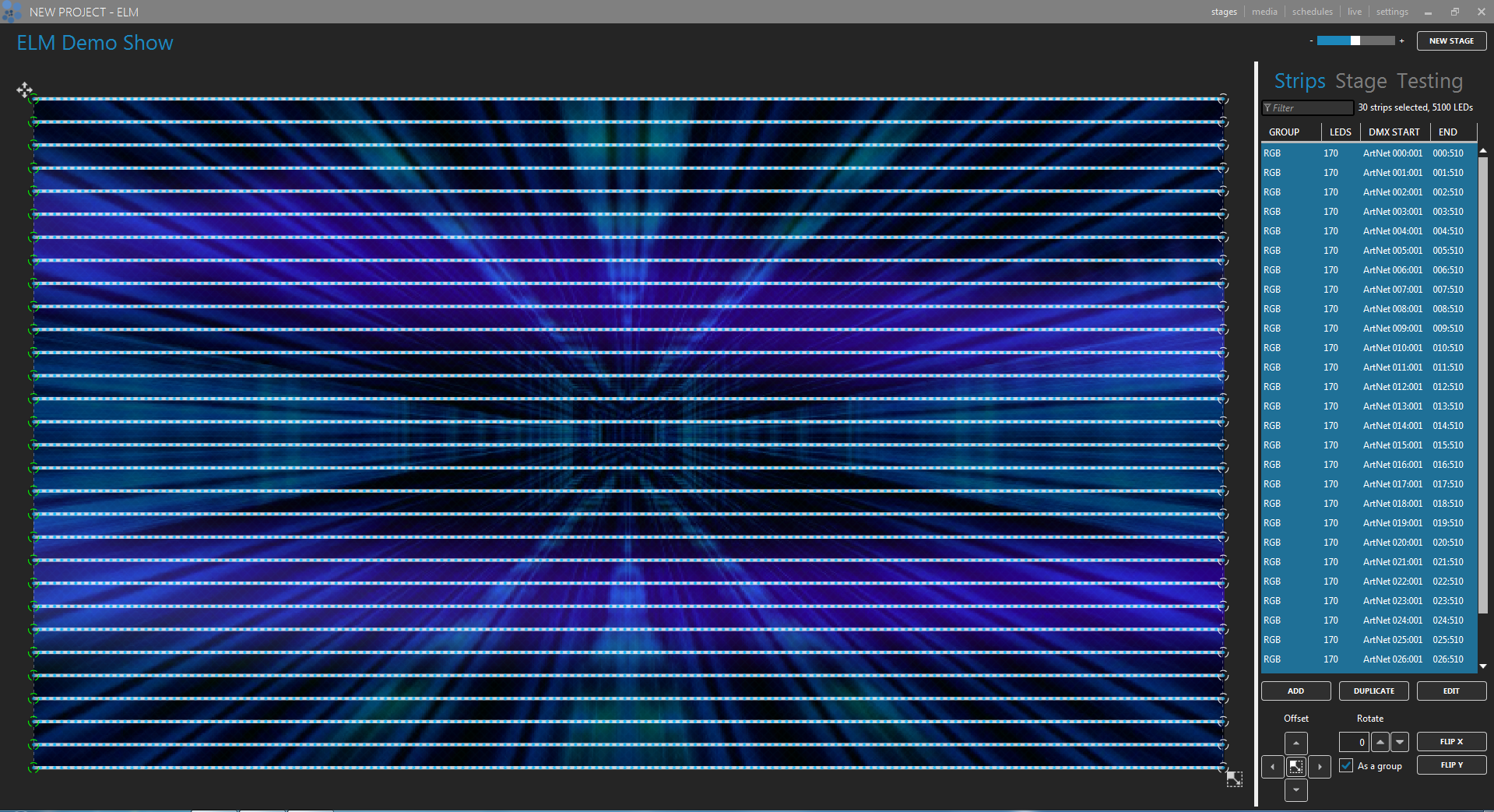 pixel mapping software
