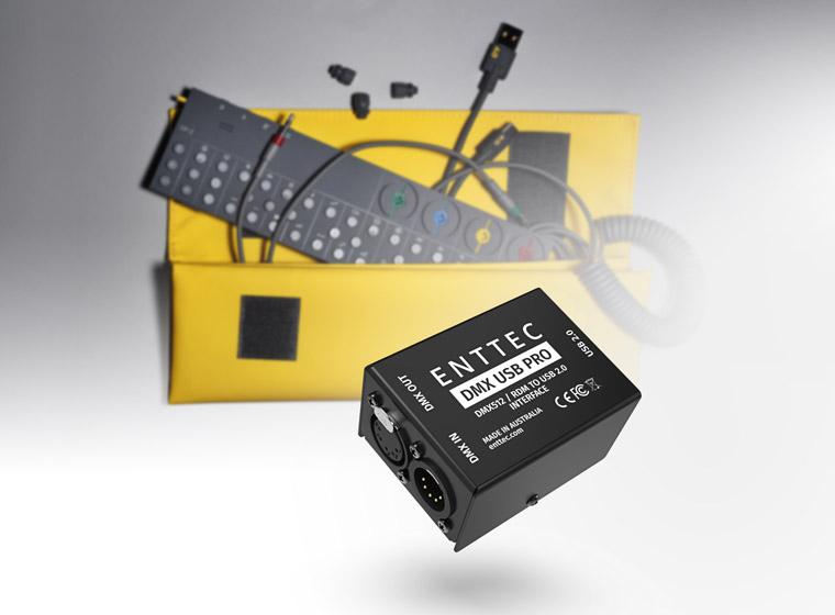 Sequencing DMX lights using OP-Z by Teenage Engineering