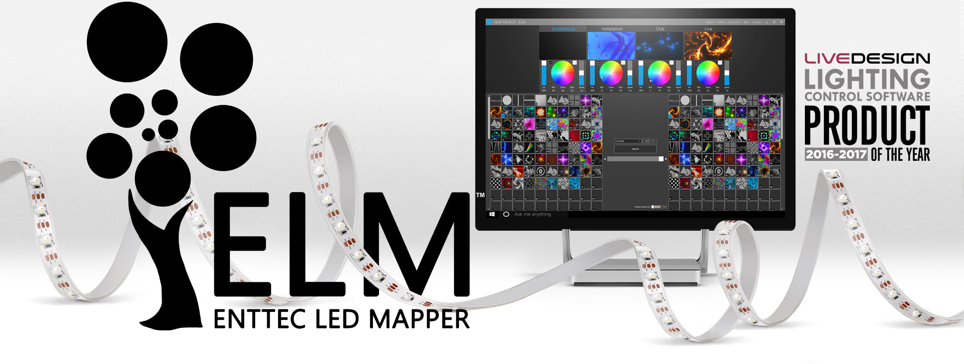 ENTTEC LED MAPPER (ELM)